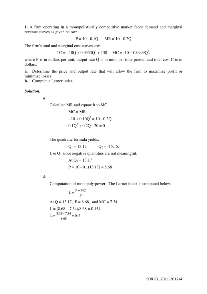 calculate mr