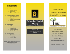 School of Social Work - Family Impact Center