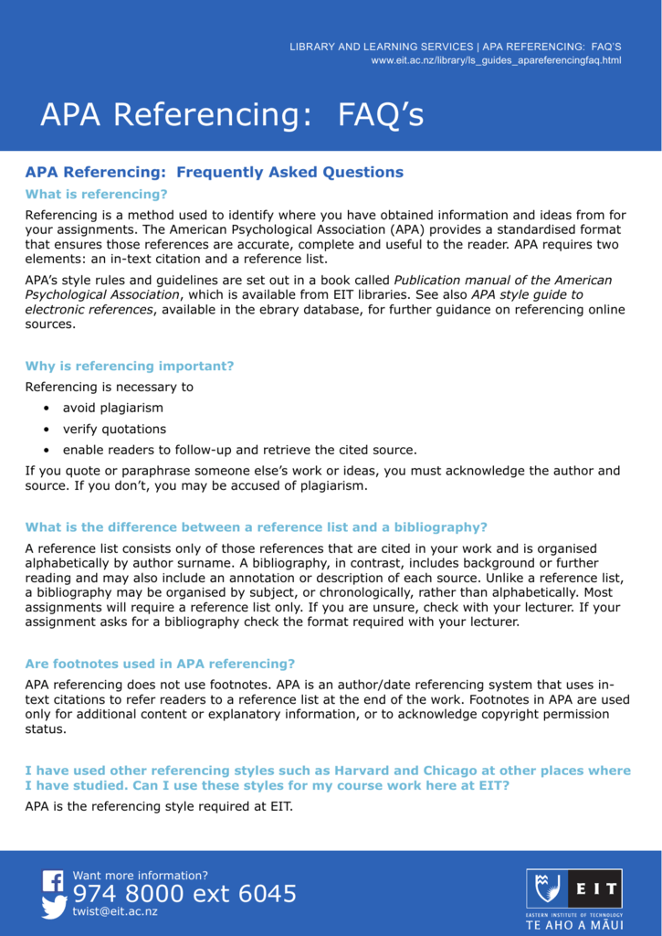 how to use footnotes in apa
