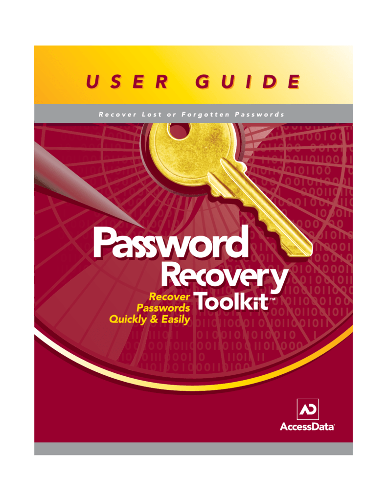 Password Recovery Toolkit Overview
