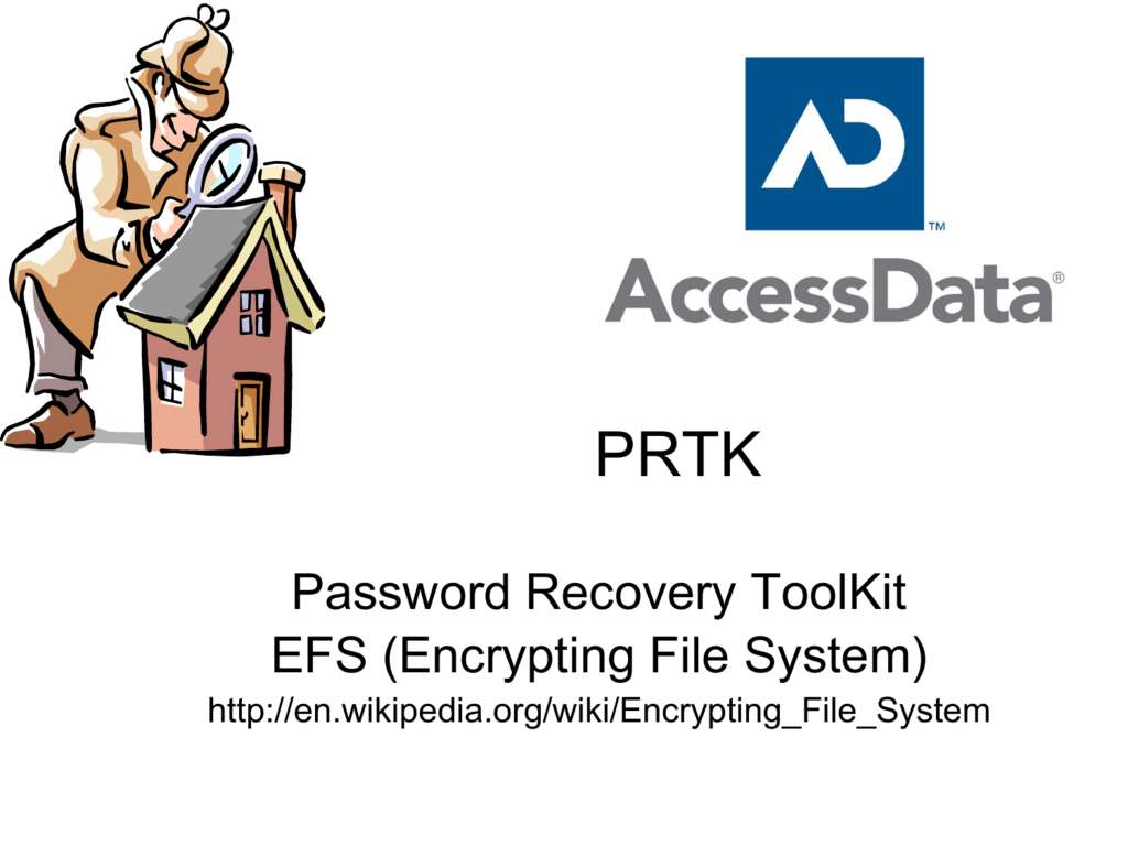 Password Recovery ToolKit EFS (Encrypting File System)