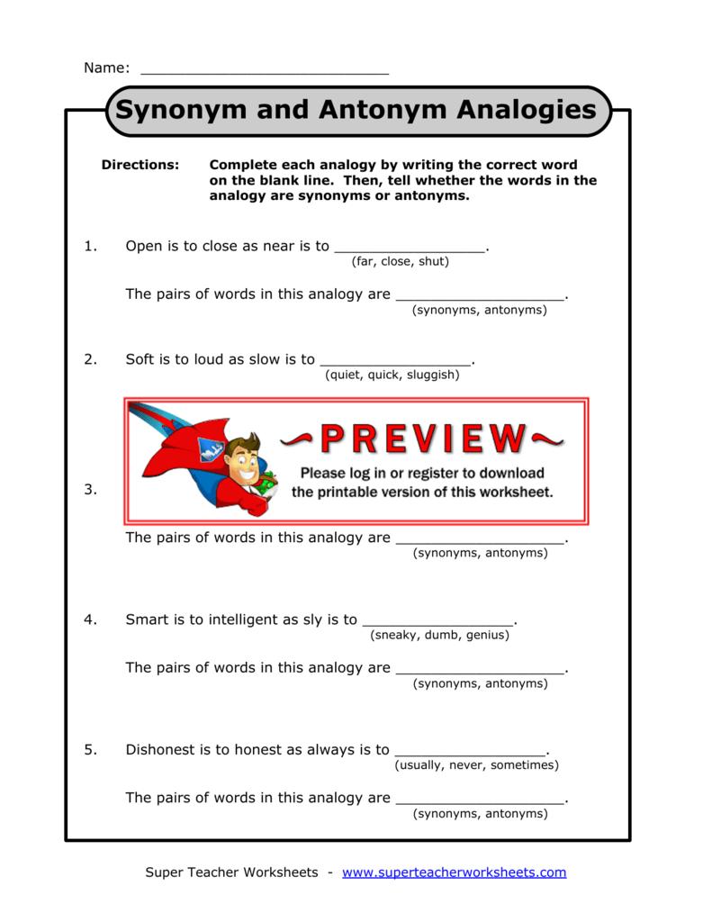Calaméo - Synonims vs antonyms