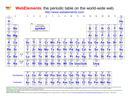 Element superhero project webelements printable periodic table urtaz Choice Image
