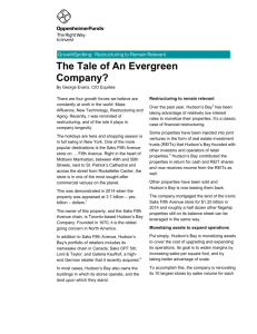 The Tale of An Evergreen Company?