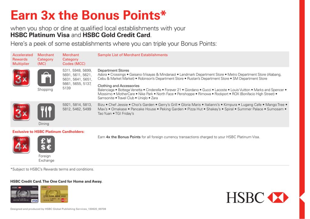 Earn 3x the Bonus Points*