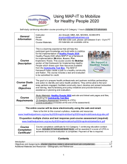 Study Guide - Health Education Partners
