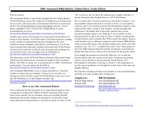 Dissertation cpe 2006