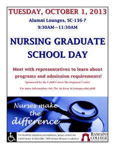 nursing graduate school day