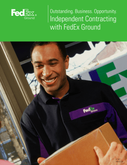 fedex case study intro Case study : how fedex works enterprise systems 1 list the business processes displayed in the video a business process is a collection of related, structured activities or tasks that produce a.
