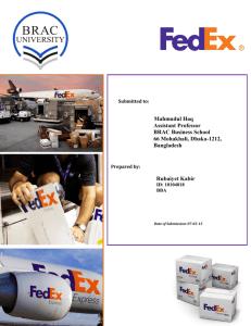 FedEx's