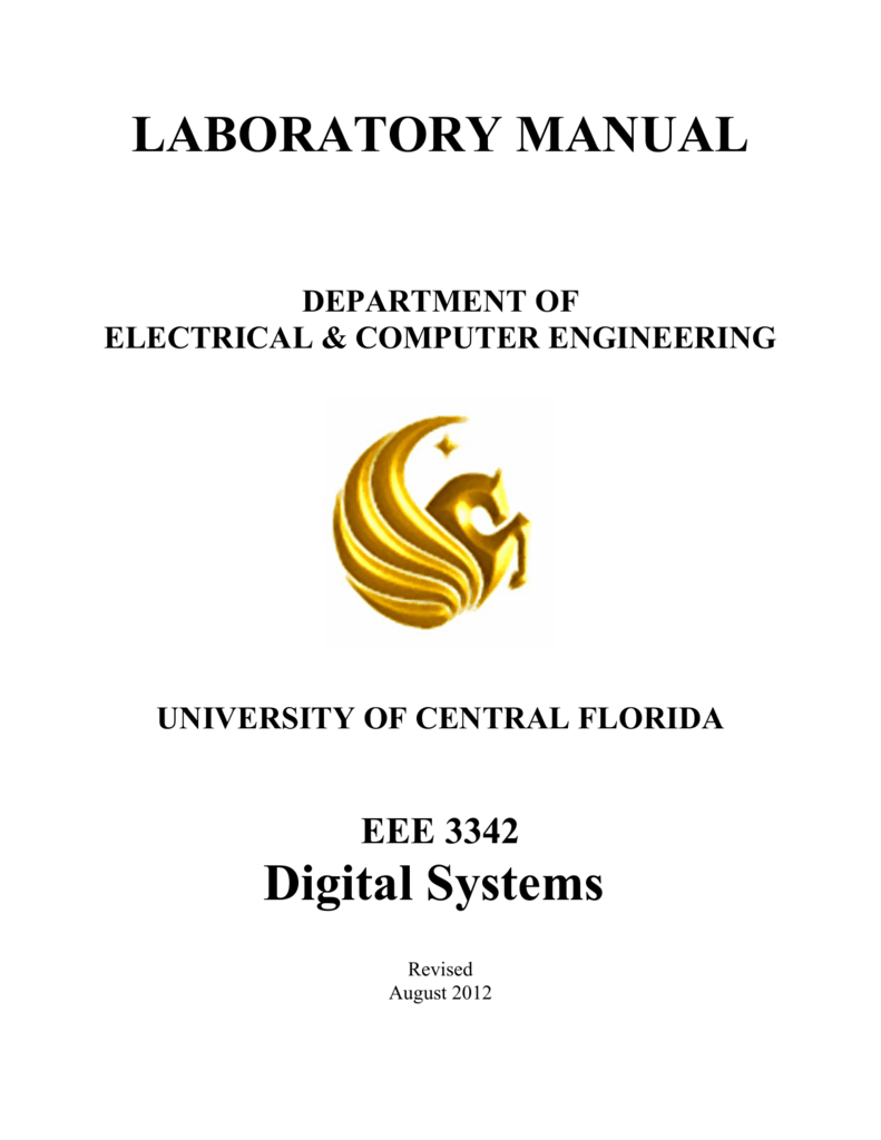Eee 3342 Lab Manual Ece University Of Central Florida
