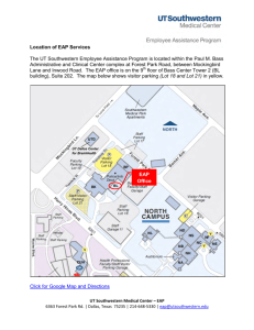 Location of Services: Employee Assistance Program (EAP)