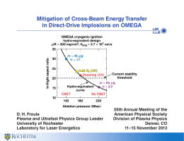Mitigation of Cross-Beam Energy Transfer in Direct