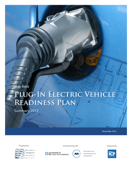 Bay Area—Plug-In Electric Vehicle Readiness Plan