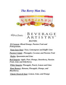 The Berry Man The Berry Man Inc.