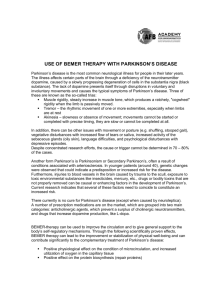 use of bemer therapy with parkinson's disease