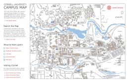 campus map Cornell University