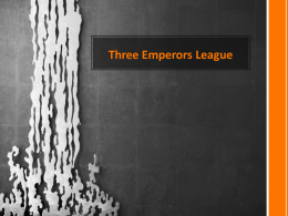 Three Emperors League