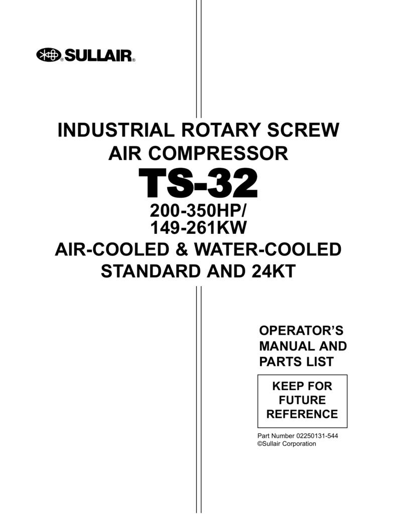 illustration and parts list on