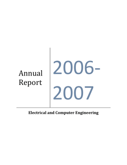 2006-2007 - Department of Electrical and Computer Engineering
