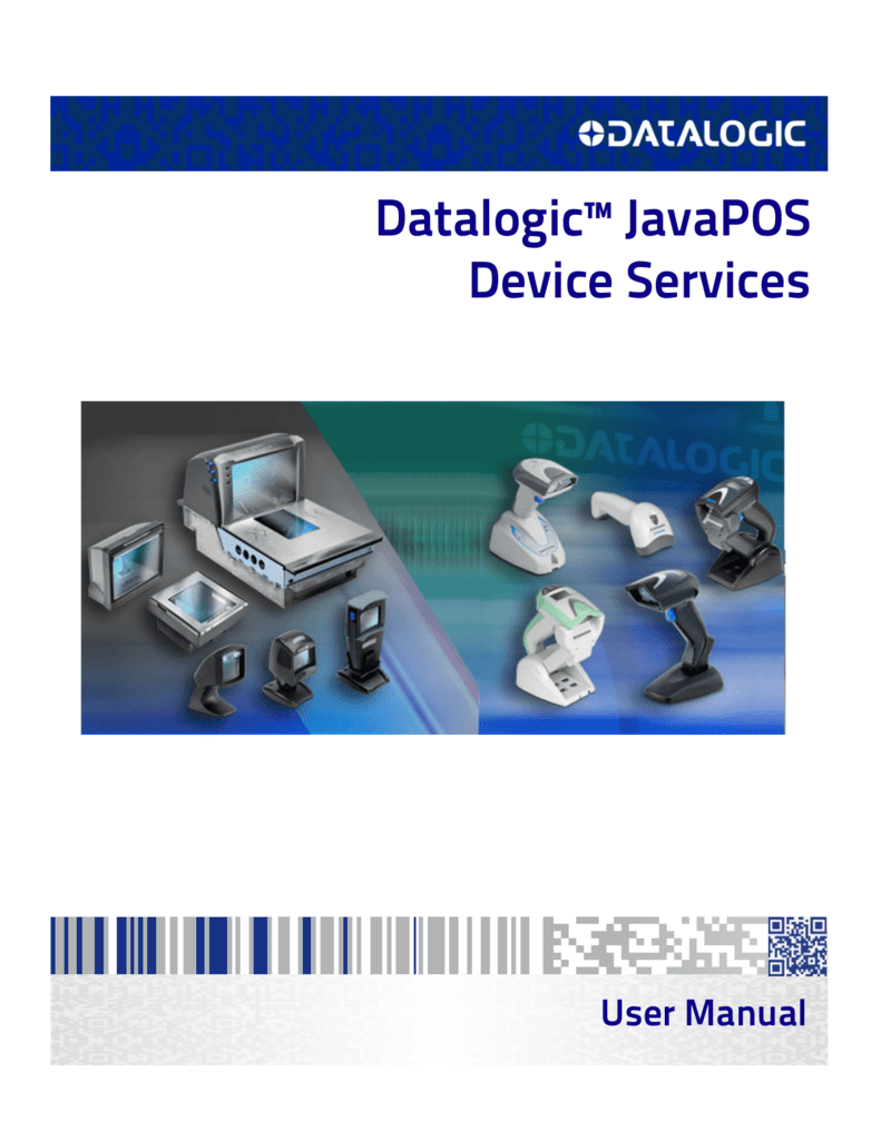 Datalogic™ JavaPOS Device Services