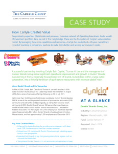case study - The Carlyle Group