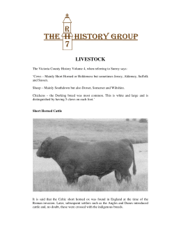 livestock - The RH7 History Group