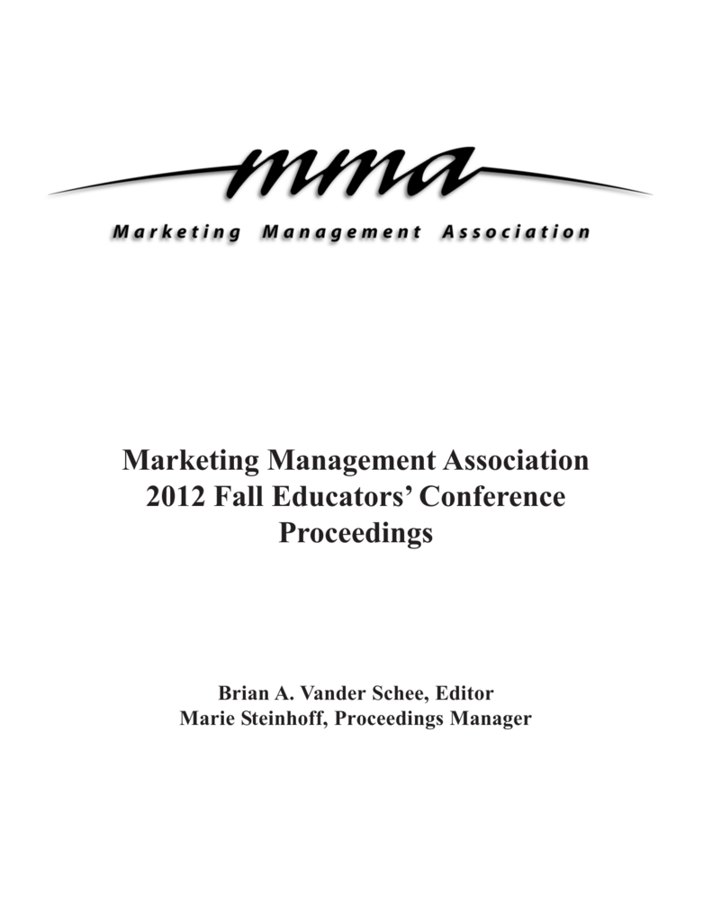 Fall pdf proceedings marketing management association fandeluxe Choice Image