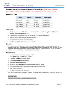 Juniper / Cisco Interoperability Cookbook