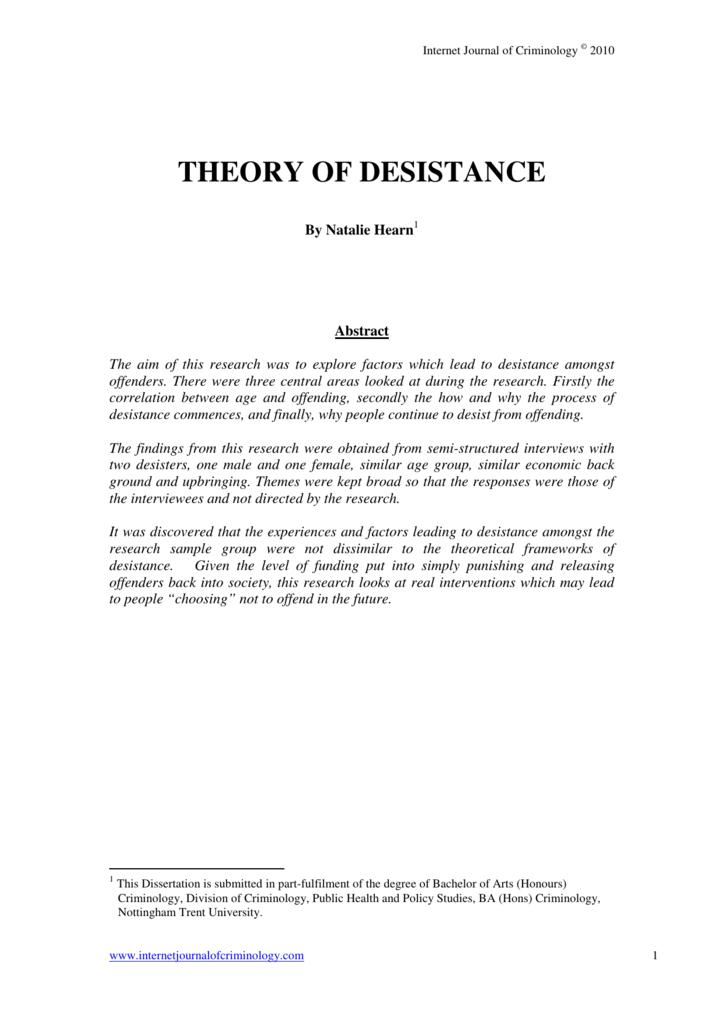 hirschis social bond theory
