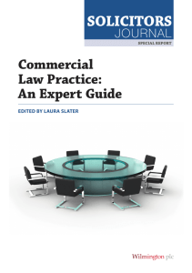 Commercial Law Practice: An Expert Guide