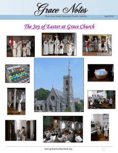 GN April 2015 - Grace Episcopal Church Amherst, MA