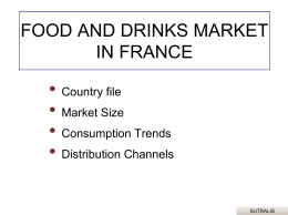 FOOD AND DRINKS MARKET IN FRANCE - USDA