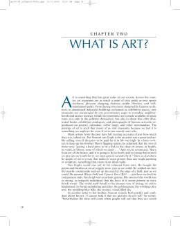 Living With Art (8th edition) Chapter 2.