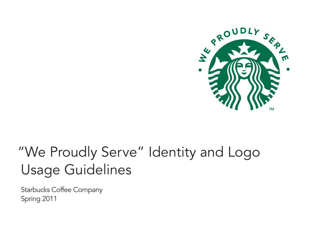 We Proudly Serve Identity And Logo Usage