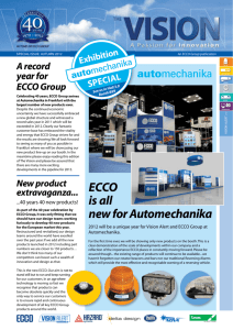 ECCO is all new for Automechanika