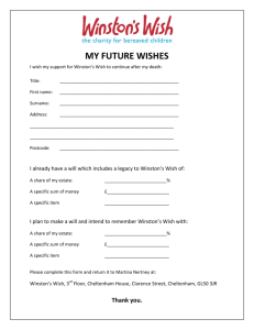 my future wishes