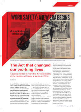 The Act that changed our working lives