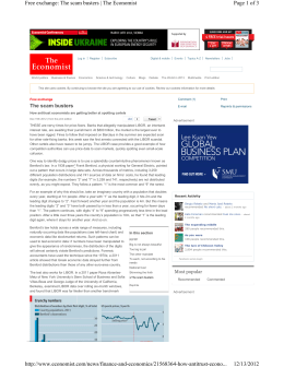 Economist - Agricultural and Resource Economics
