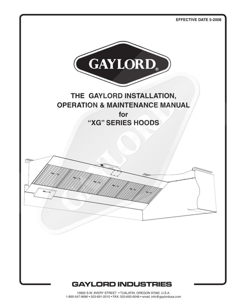Gaylord Exhaust Hood Wiring Diagram Great Installation Of Range Fan The Operation Maintenance Rh Studylib Net Micro Switch