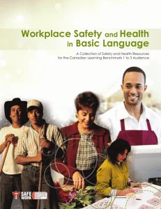 Workplace Safety and Health in Basic Language