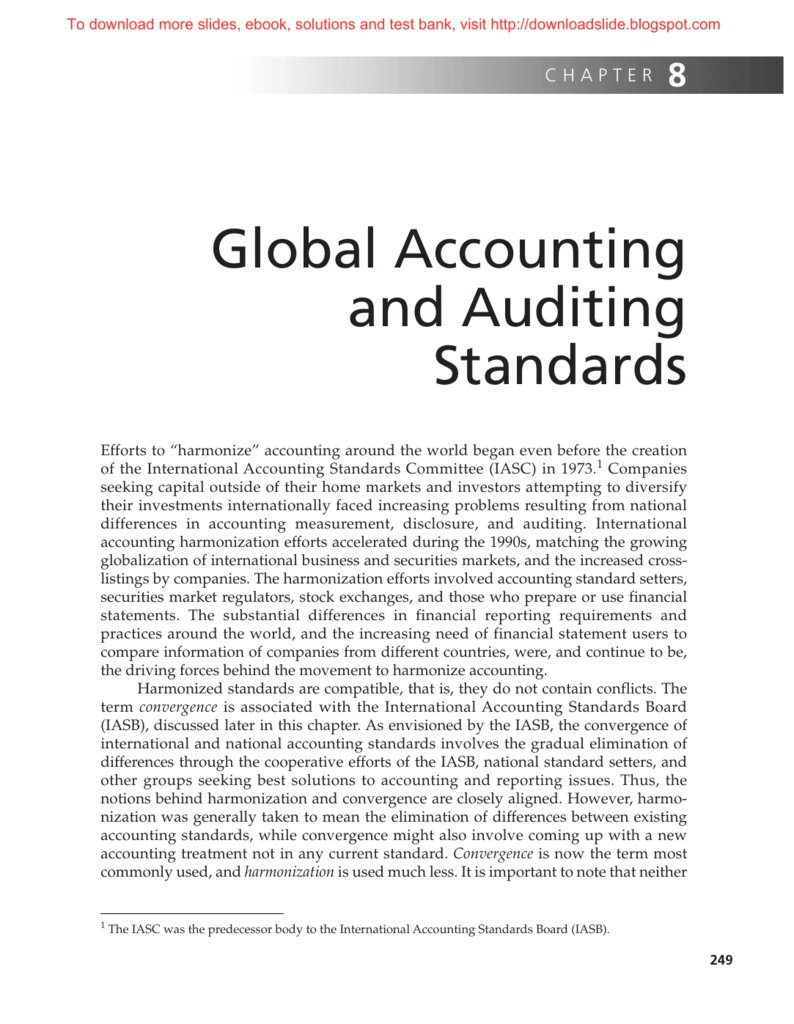 International Accounting Ebook