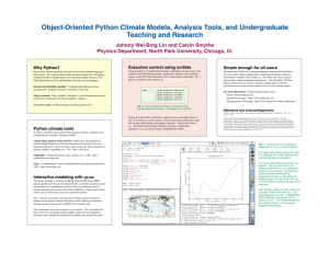 Time Series Analysis in Python with statsmodels Wes McKinney Josef