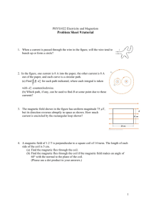 Problem Sheet 9:tutorial
