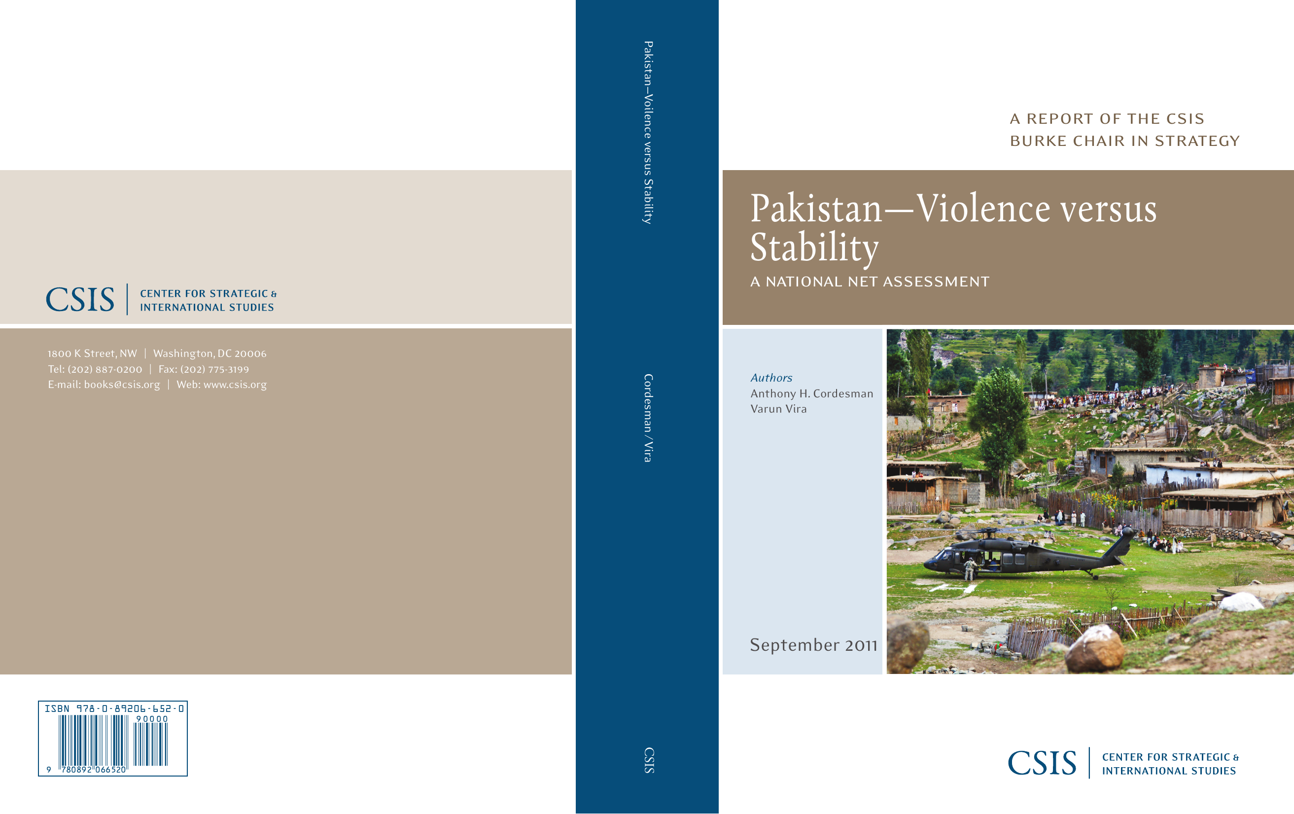 Pakistan--Violence versus Stability: A National Net Assessment
