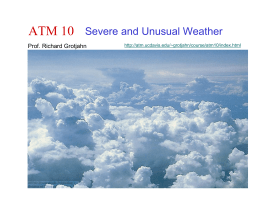 ATM 10 Severe and Unusual Weather