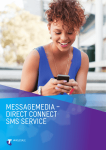 messagemedia – direct connect sms service