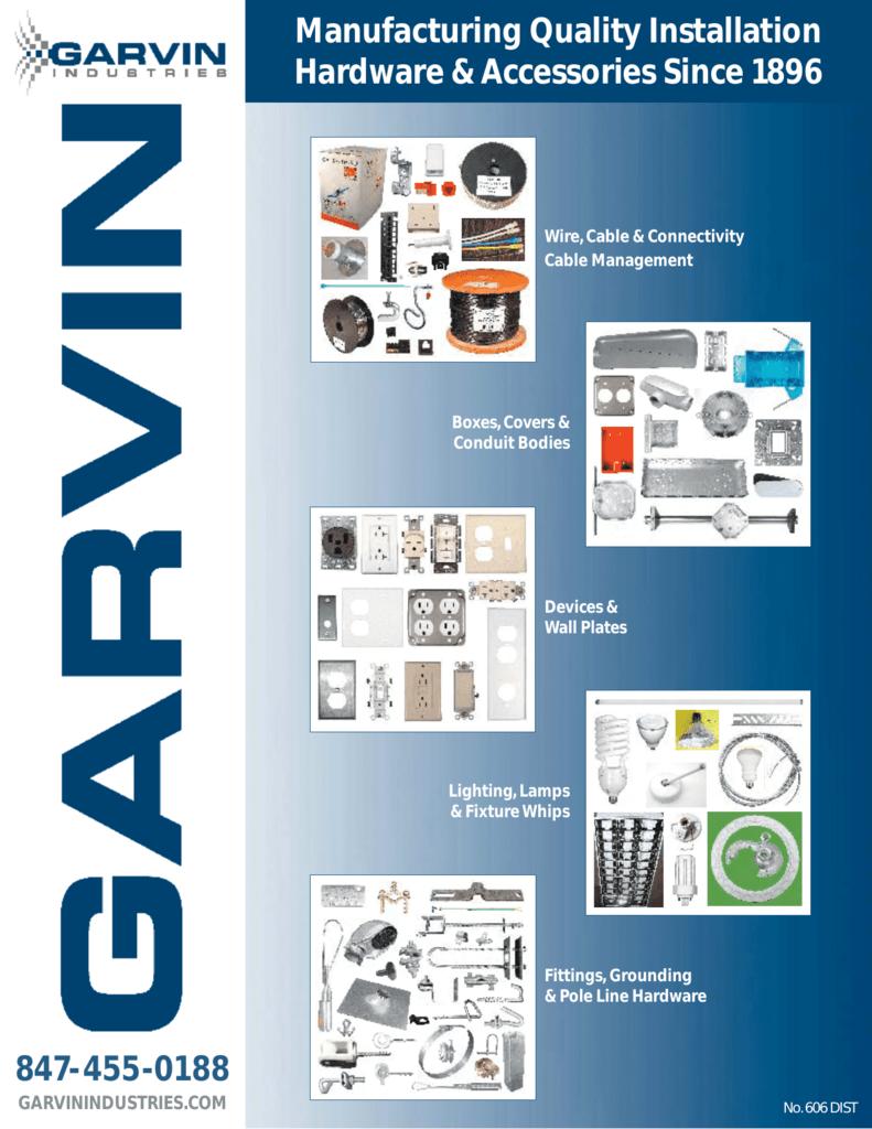 Garvin Industries Catalog