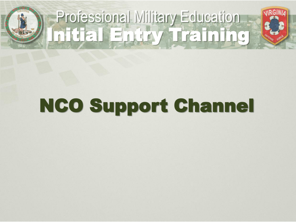 nco support promotion points