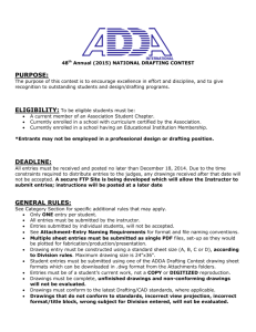 Requirements - American Design Drafting Association
